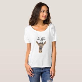 Pièce en t drôle d'ami de chèvre t-shirt