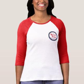Pièce en t du base-ball t-shirt
