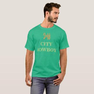 Pièce en t du T-shirt d'hommes verts du T-shirts