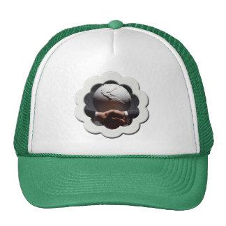 Pièce en t et présents de jour de la terre casquettes de camionneur