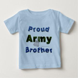 Pièce en t fière d'enfant en bas âge de frère t-shirt pour bébé