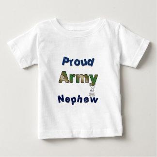 Pièce en t fière d'enfant en bas âge de neveu t-shirt pour bébé