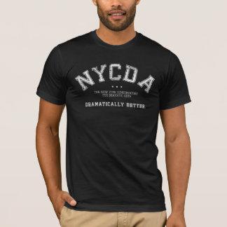Pièce en t foncée d'hommes de NYCDA T-shirt