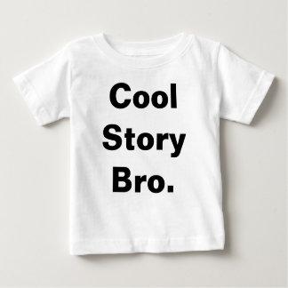 Pièce en t fraîche de bébé de Bro d'histoire T-shirt Pour Bébé