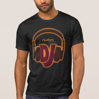 pièce en t fraîche personnalisée du DJ T-shirt