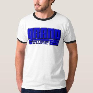 Pièce en t grande de fils de Standin T-shirt