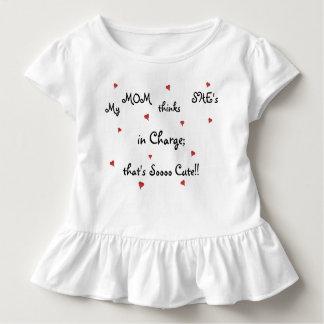Pièce en t impertinente de ruche d'enfant en bas t-shirt pour les tous petits
