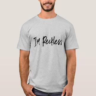 """Pièce en t """"imprudente"""" pour les hommes t-shirt"""