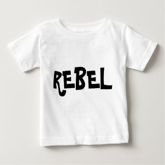 Pièce en t infantile rebelle t-shirt
