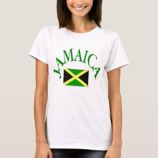 Pièce en t JAMAÏCAINE de drapeau T-shirt