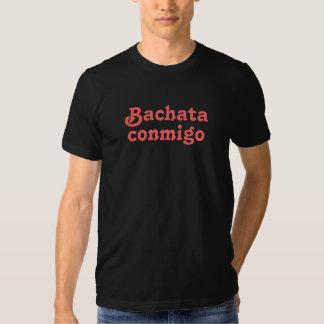 Pièce en t latine d'usage de danse de Bachata de T-shirts