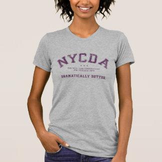 Pièce en t légère de femmes classiques de NYCDA T-shirt