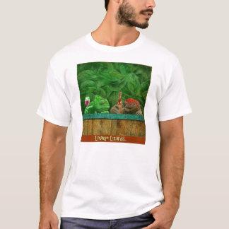 """Pièce en t """"lézards de Bullas de salon """" T-shirt"""