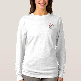Pièce en t longtemps gainée de NursesUnite T-shirt