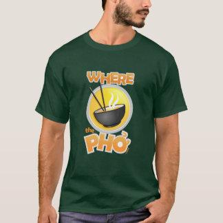 Pièce en t lourde foncée de WhereThePho T-shirt