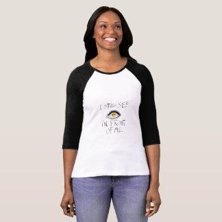 Pièce en t lyrique de base-ball t-shirt