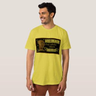 Pièce en t masculine NOIRE de couleur de Dijon pro T-shirt