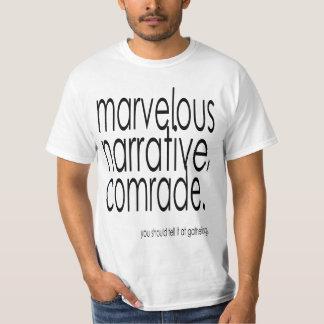 Pièce en t merveilleuse (histoire fraîche Bro) T-shirt