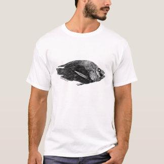 Pièce en t morte de Tilapia de mer de Salton T-shirt