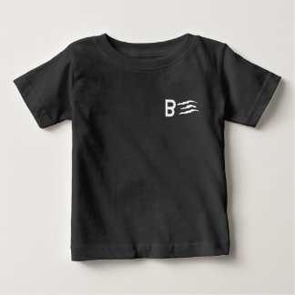 Pièce en t noire de Streetwear de Japonais par T-shirt Pour Bébé