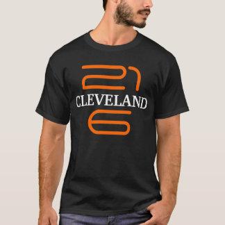 Pièce en t Ohio Brown orange noir de T-shirt de
