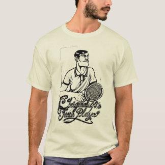 Pièce en t originale de joueur de tennis des t-shirt