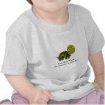 Pièce en t personnalisée de nourrisson de tortue t-shirt