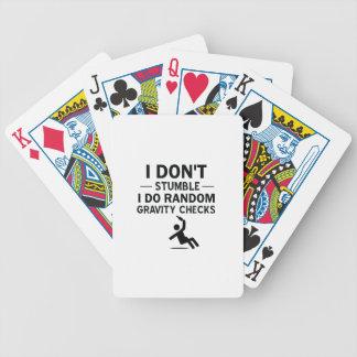 Pièce en t potable jeu de cartes