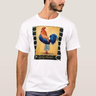 """Pièce en t """"poulet de Bullas de ressort """" T-shirt"""