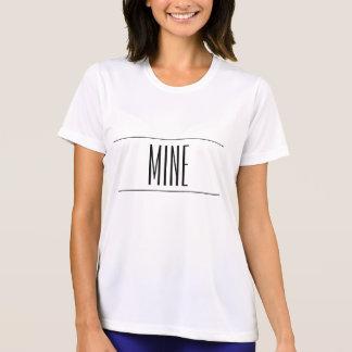 Pièce en t pour toujours imprimée de mine t-shirts