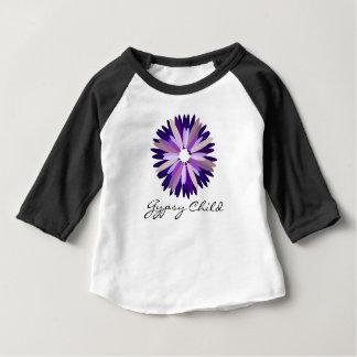 Pièce en t raglane d'habillement américain gitan t-shirt pour bébé