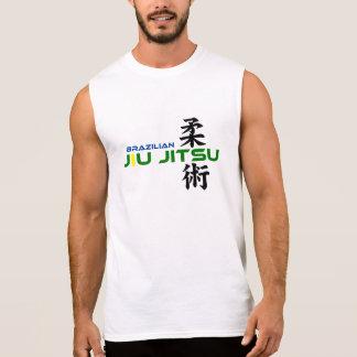 Pièce en t sans manche de Ju Jitsu de Brésilien T-shirt Sans Manches