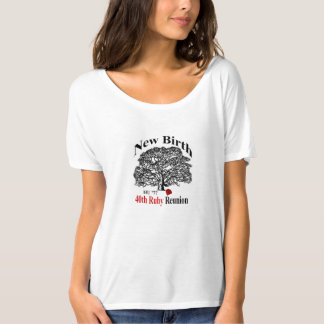 Pièce en t Slouchy d'ami de dames T-shirt
