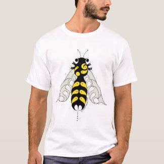 Pièce en t tribale d'abeille de style t-shirt