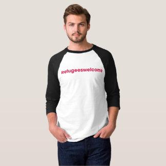 Pièce en t unisexe de base-ball de t-shirt