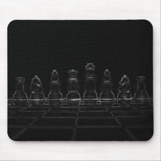 Pièces d'échecs tapis de souris