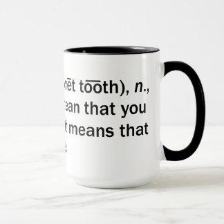 Pied de mouton mug