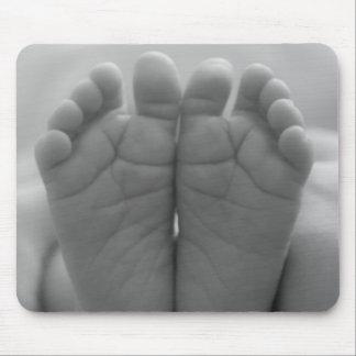 Pieds de bébé tapis de souris