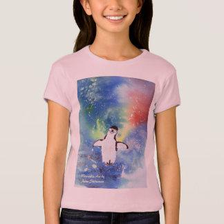 Pieds heureux de pingouins t-shirt