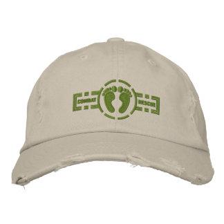 Pieds verts du casquette | de rondeau de