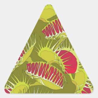piège de mouche de Halloween Sticker Triangulaire