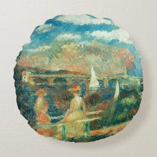Pierre banques de Renoir un   de la Seine à Coussins Ronds
