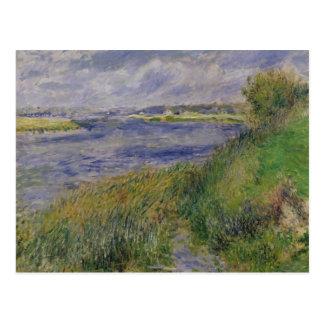 Pierre banques de Renoir un | de la Seine, Cartes Postales