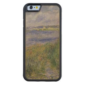 Pierre banques de Renoir un | de la Seine, Coque iPhone 6 Bumper En Érable