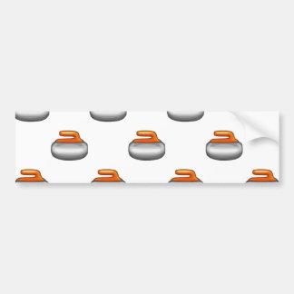 Pierre de bordage d'Emoji Autocollant De Voiture