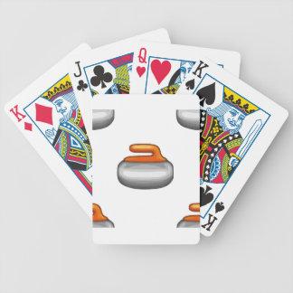 Pierre de bordage d'Emoji Jeu De Poker