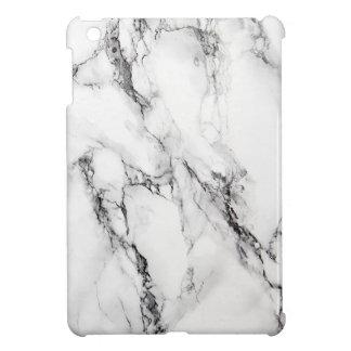 Pierre de marbre avec noir et le gris texturisés coque iPad mini