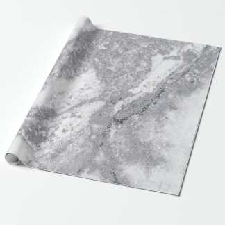 Pierre de marbre blanche abstraite de Carrare de Papier Cadeau