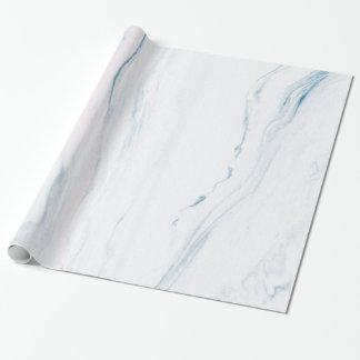 Pierre de marbre blanche simple papiers cadeaux