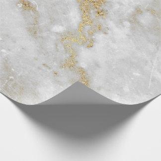 Pierre de marbre grise abstraite VIP de Carrare Papiers Cadeaux Noël
